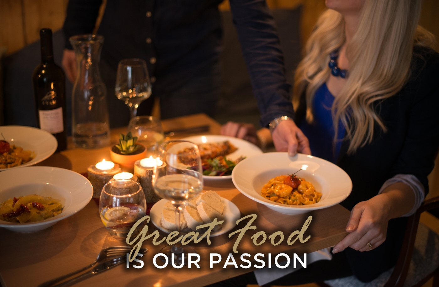 great food is our passion